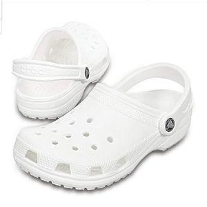 Crocs Classic Clog White Slip On VSCO Essential 8